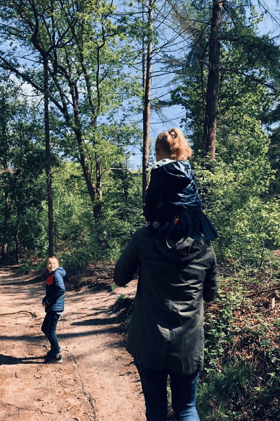 wandelen in Lage Vuursche